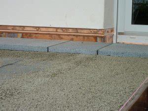 unterkellerte terrasse aufbau unterkellerte terrasse mit granitplatten aufbau