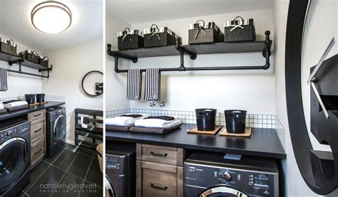 industrial laundry room industrial laundry by calgary interior designer 187 natalie fuglestveit interior design