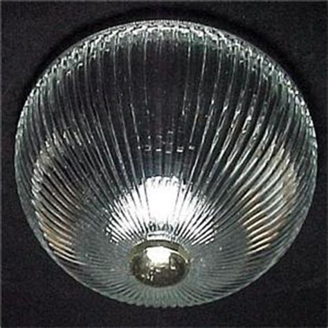 pan glass ceiling light shade ribbed clear glass 8 in ceiling light pan shade globe for flush mount or post ebay