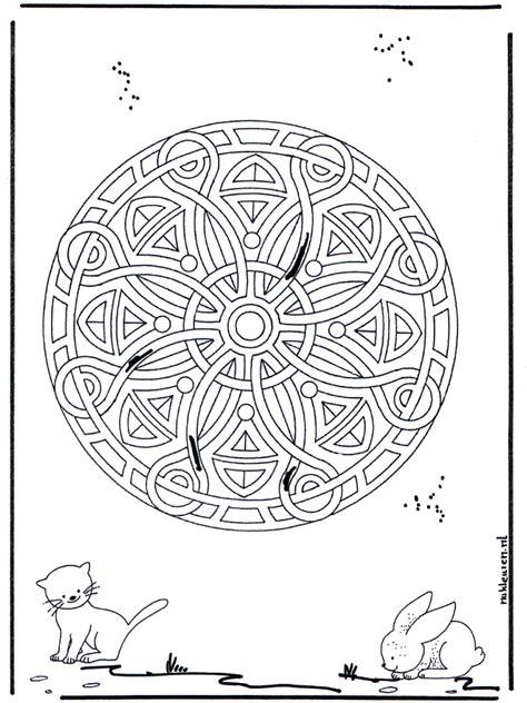 animal geomandala  animal mandalas
