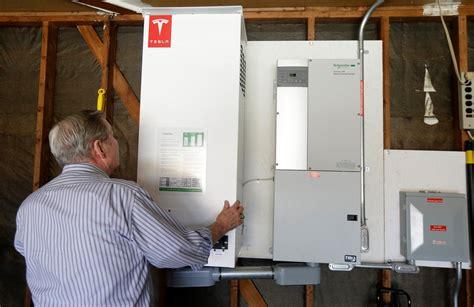 Tesla Battery Power η Tesla παρουσίασε το Powerwall μια μπαταρία σπιτιού που