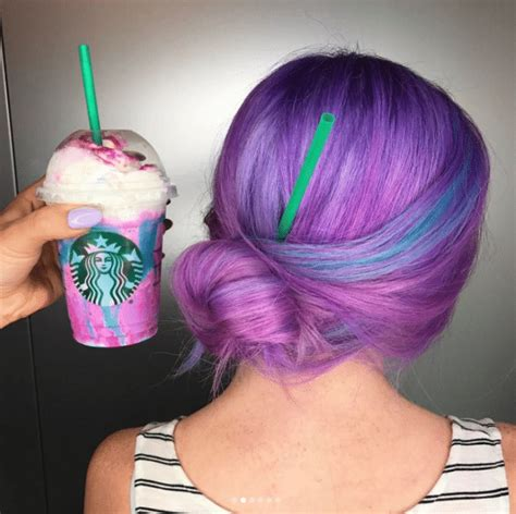 unicorn hair color hair color unicorn frappuccino inspired health food