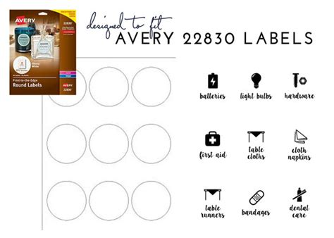 Labeling In The Linen Closet With Free Printable Labels The Homes I Have Made Avery 22830 Template