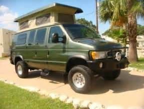 sell used 2002 ford econoline sportsmobile 4x4