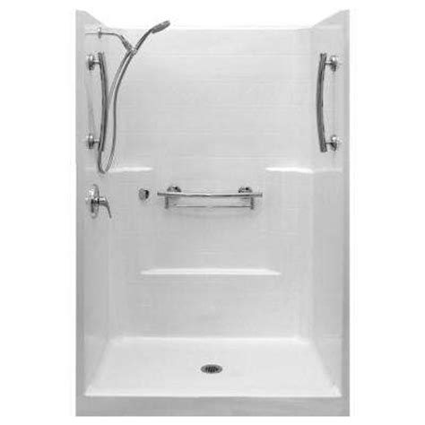 square fiberglass shower stalls kits showers the