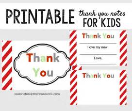 Simple Crafts For Halloween - printable thank you notes reasons to skip the housework