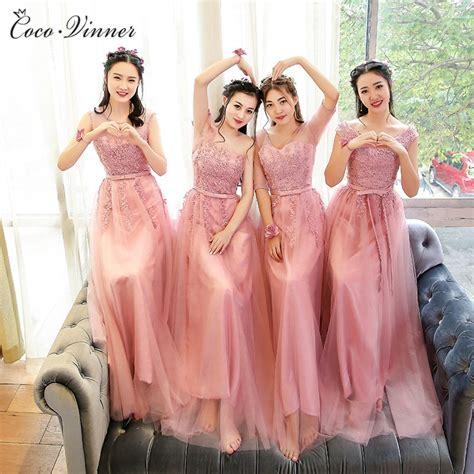 Kebaya Rosela Pink aliexpress buy c v 2017 bridesmaid dresses