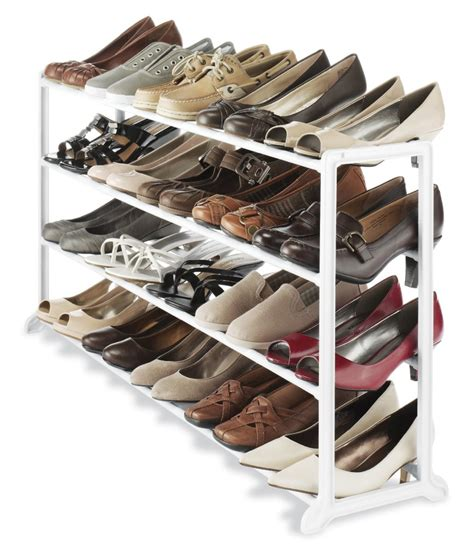 shoe storage modern white solid wood walk in closer with shoe storage