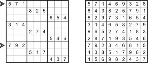 printable sudoku puzzle with answer key sudoku with answers sudoku types for month january 2013