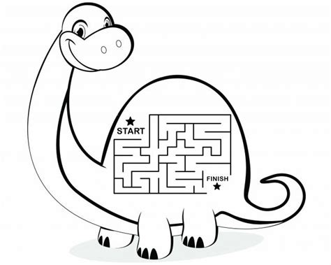 free printable dinosaur maze the happening book february 15 1979 today i brought my