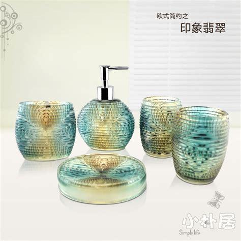 crystal bathroom accessories sets 5 pieces bathroom set fashion crystal bathroom accessories