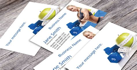 Fitness Gift Card Template - card templates fitness business cards 100 images designs unique fitness business