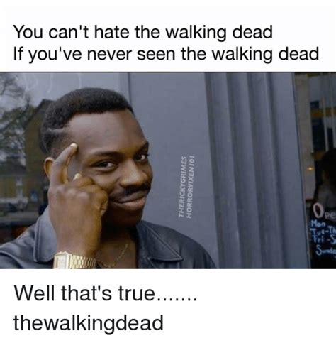 T Dogg Walking Dead Meme - you can t hate the walking dead if you ve never seen the
