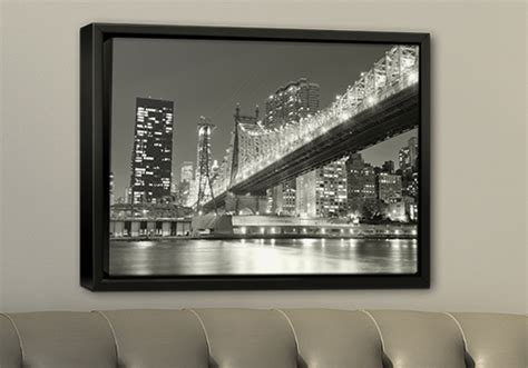 photofiddle floating frame floating frames float floating frame canvas