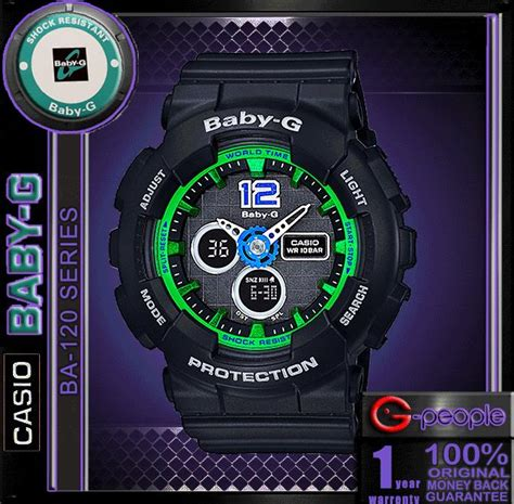 casio baby g ba 120 1b original end 5 25 2017 11
