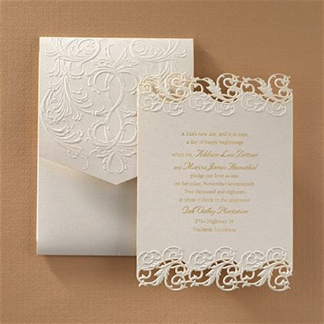 carlson craft wedding invitation wording shimmering elegance invitation forever friends bethpage ny