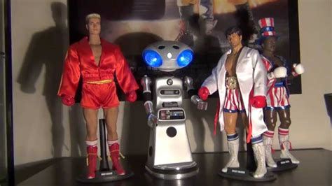 rocky 4 figures rocky iv sico robot 12 quot 1 6th scale figure review
