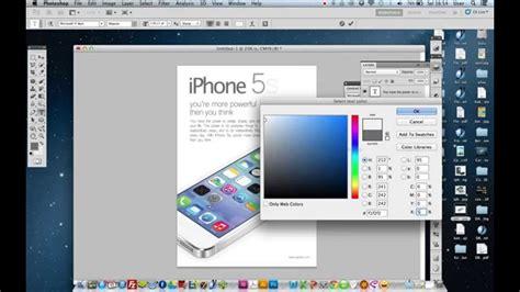 cara membuat desain brosur dengan adobe photoshop youtube cara membuat desain flyer dengan photoshop youtube