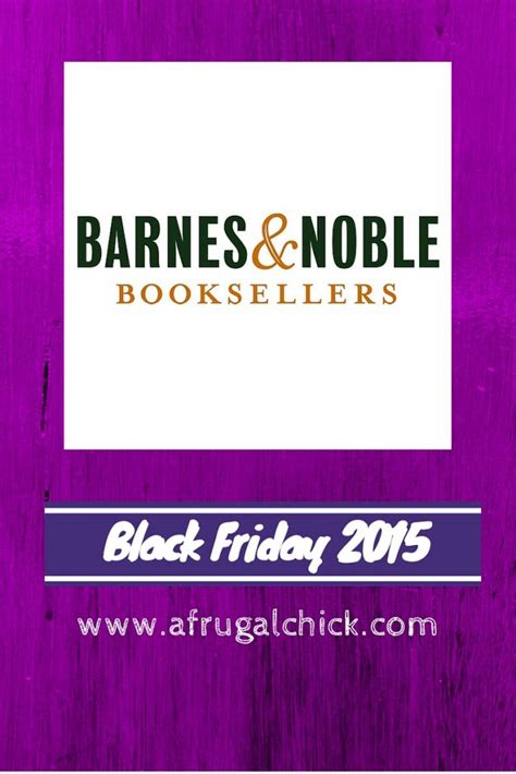 barnes and noble monday black friday 2015 ad barnes and noble