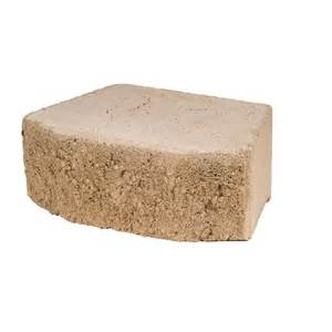 lowes landscape blocks shop basic retaining wall block common 16 in x 6 in