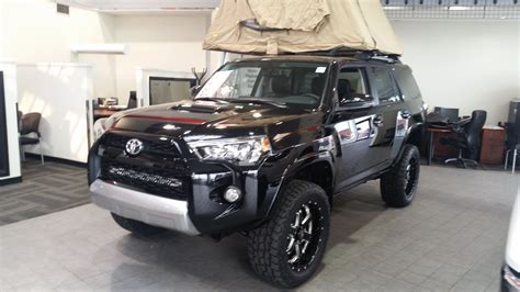 toyota 4runner lifted 2017 2015 toyota 4runner trail edition with a lift kit and bmf