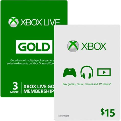 printable xbox gift card xbox live bundle with 3 month gold membership and 15 xbox