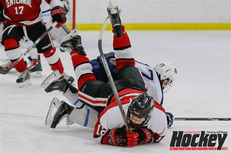 minnesota high school hockey sections section 5aa gallery blaine vs centennial minnesota