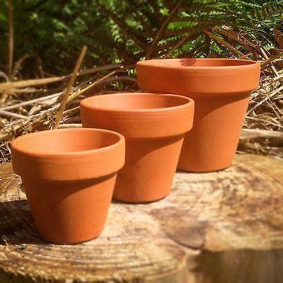 mini terracotta plant pots small  extra large sizes