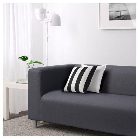 Klippan Two Seat Sofa Flackarp Grey Ikea Ikea Klippan Sofa