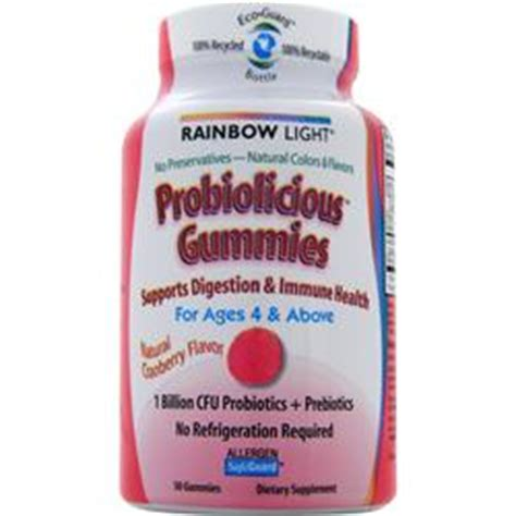 rainbow light probiotic gummies rainbow light probiolicious probiotic gummies on sale at