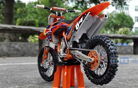 Ktm Bike Models 1 12 Scale Bull Ktm 250sx F Alloy Plastic Model