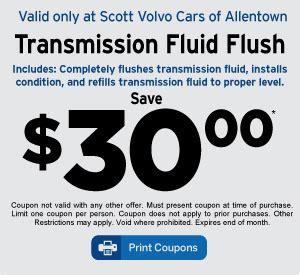 volvo service coupon volvo service specials in allentown pa