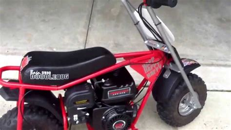 baja motorsports db30 doodlebug mini bike reviews 6 5 hp baja doodlebug mini bike doovi