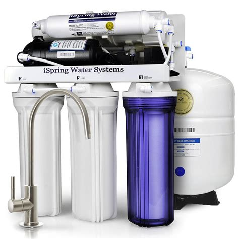 reverse osmosis under sink system ispring wqa gold seal maximum performance under sink