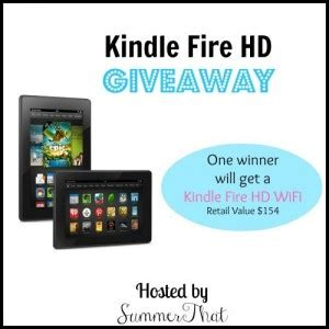 Kindle Giveaway - starfish chic