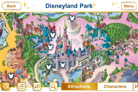 disneyland map app new official disney parks iphone app features augmented