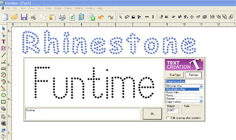 font design software windows brand new funtime rhinestone software cut template