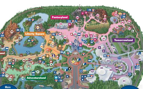disney world welcomes new fantasyland attractions this new fantasyland on the magic kingdom guide map photo 2 of 2