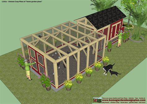 Backyard Chicken Coop Plans Free Home Garden Plans L101 Chicken Coop Plans Construction Chicken Coop Design How To Build