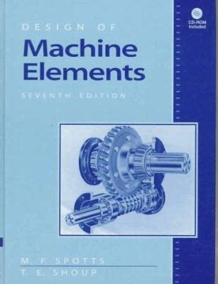design machine elements problems solutions design of machine elements by m f spotts merhyle