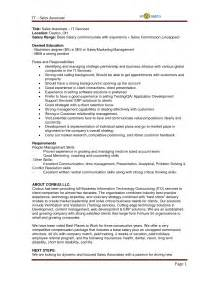 Resume Sle Profile Sle Career Profile For Resume 28 Images Admin Assistant Resume Sales Assistant Lewesmr
