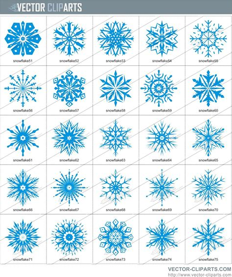 collection of 25 snowflake tattoo