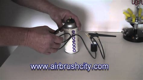 with airbrush airbrush city propellant can adapter regulator