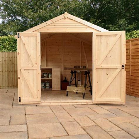 Ultimate Garden Shed mercia ultimate garden shed 10 x 8ft with plywood insulation rainwater kit