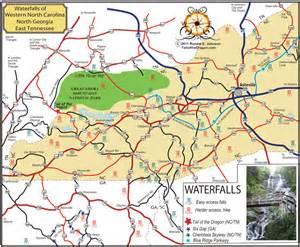 waterfalls of western carolina and