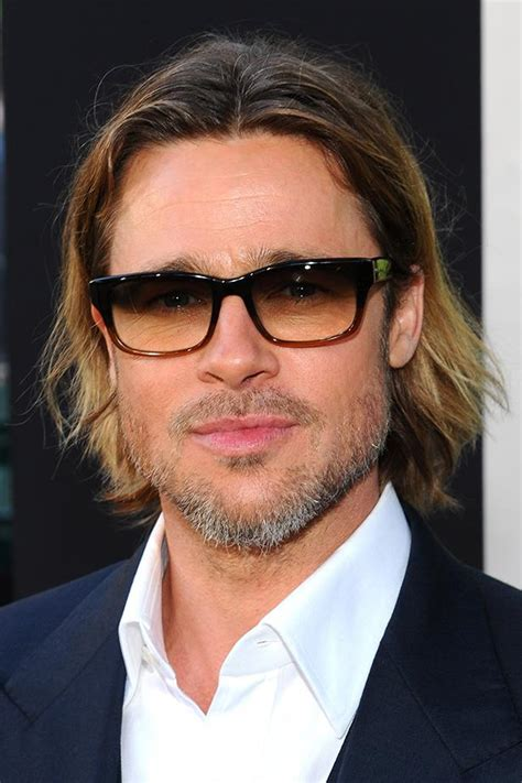 men tuck hair behind ears brad pitt hair 2012 stylish eve the grooming evolution of our favourite male celebrities