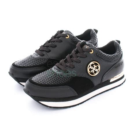 guess the sneakers sneakers guess rimma black flrim4lea12 escapeshoes