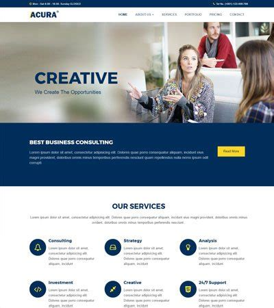 bootstrap templates for web design company free website templates and bootstrap themes webthemez