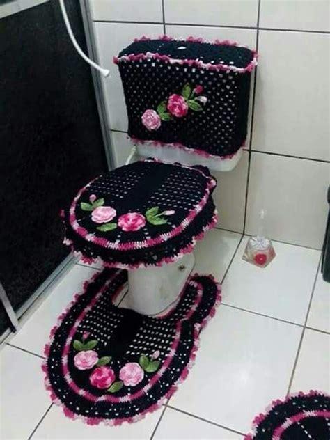 crochet owl toilet seat cover pattern crocheted bathroom set crochet for home bathroom