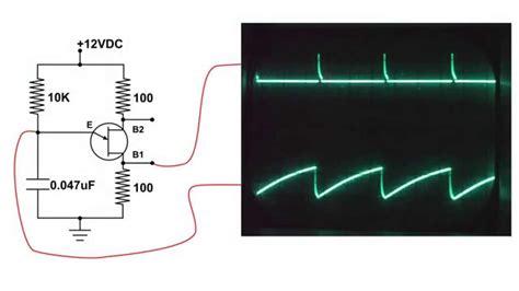 transistor bjt y ujt ujt unijunction transistor testing and circuit demo